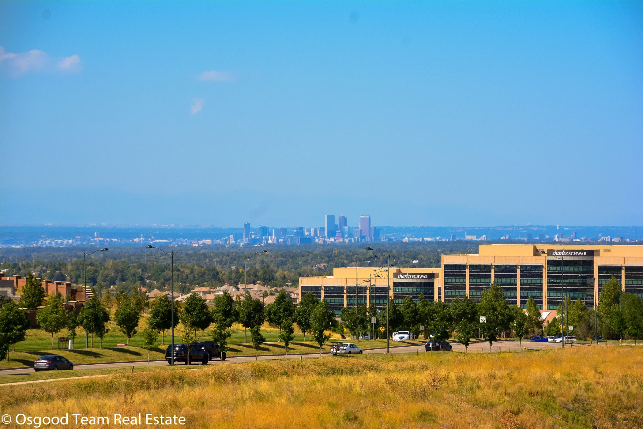 Skyline Views Over Charles Schwab Offices In Lone Tree Co Lone Tree Skyline View The Pinery