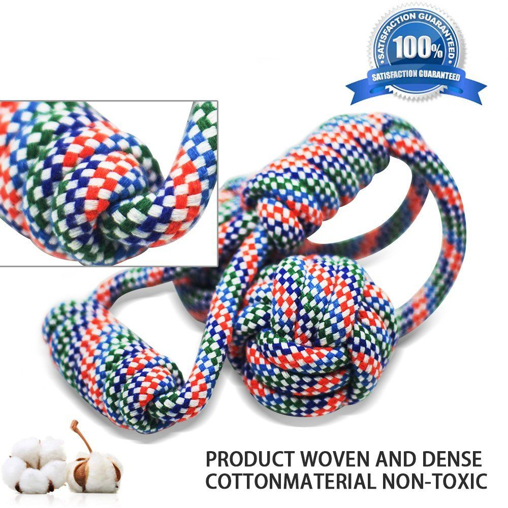 Dog Rope Toys For Aggressive Chewers Indestructible Dog Chew Rope