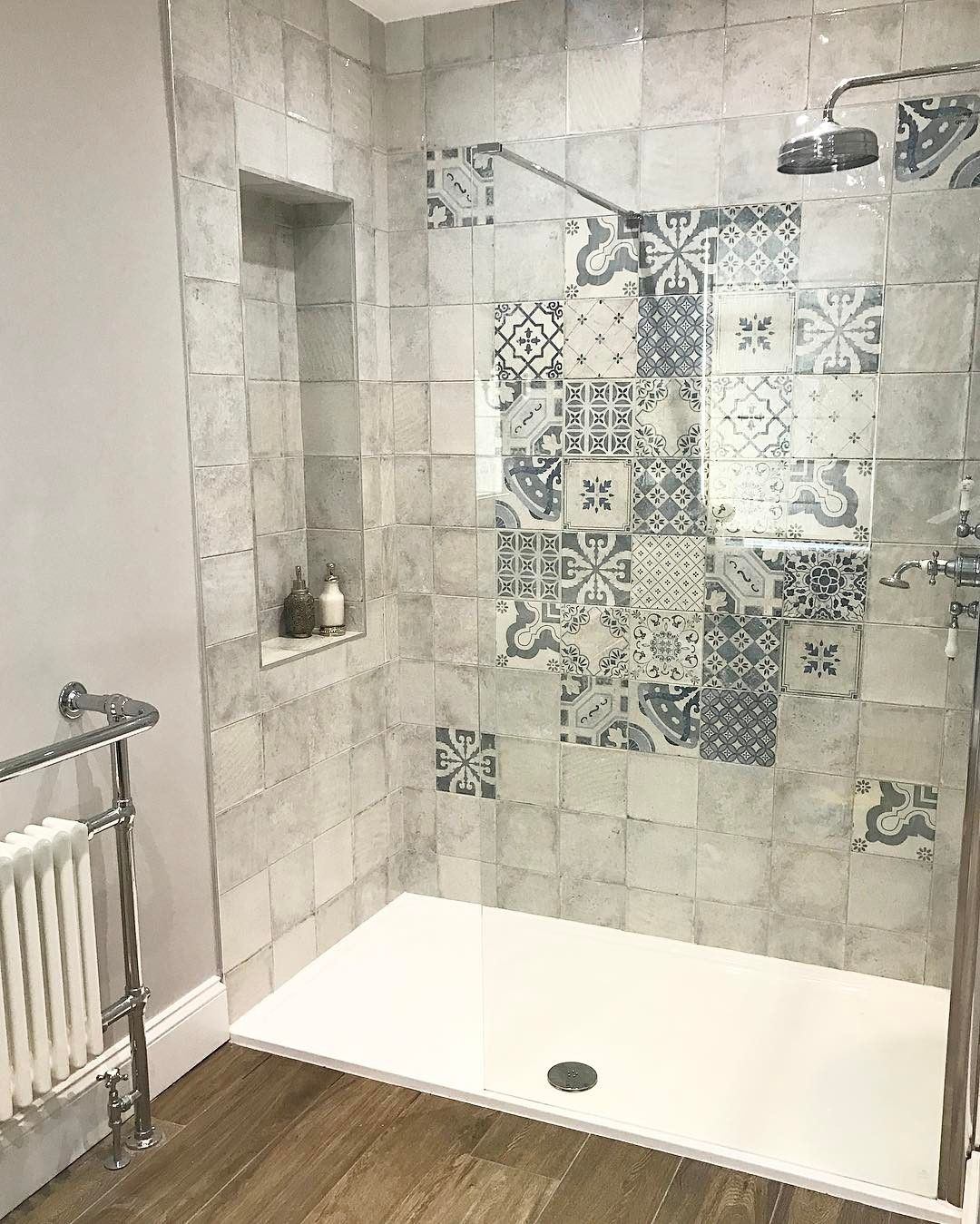 from moroccan to mosaic subway to natural stone these top tile trends textures and patterns will sweep you off your feet in - Bathroom Tile Designs 2017