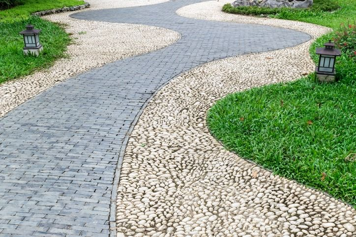 Walkway Ideas House And Home Review Gravel Landscaping