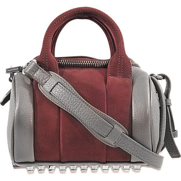 9c757648c2b2 Alexander Wang Rex Mini Fur handbag in rabbit (13.537.685 IDR) ❤ liked on  Polyvore featuring bags