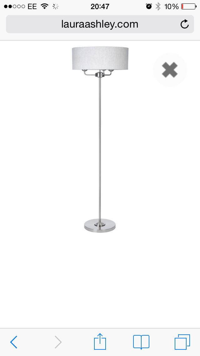 lowest price df13a 32aac Sorrento floor lamp Laura Ashley | New house ideas! | Home ...