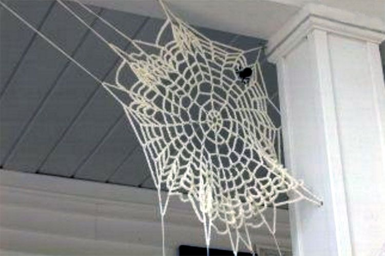 Free Crochet Halloween Spider Web Patterns Free Crochet Spider