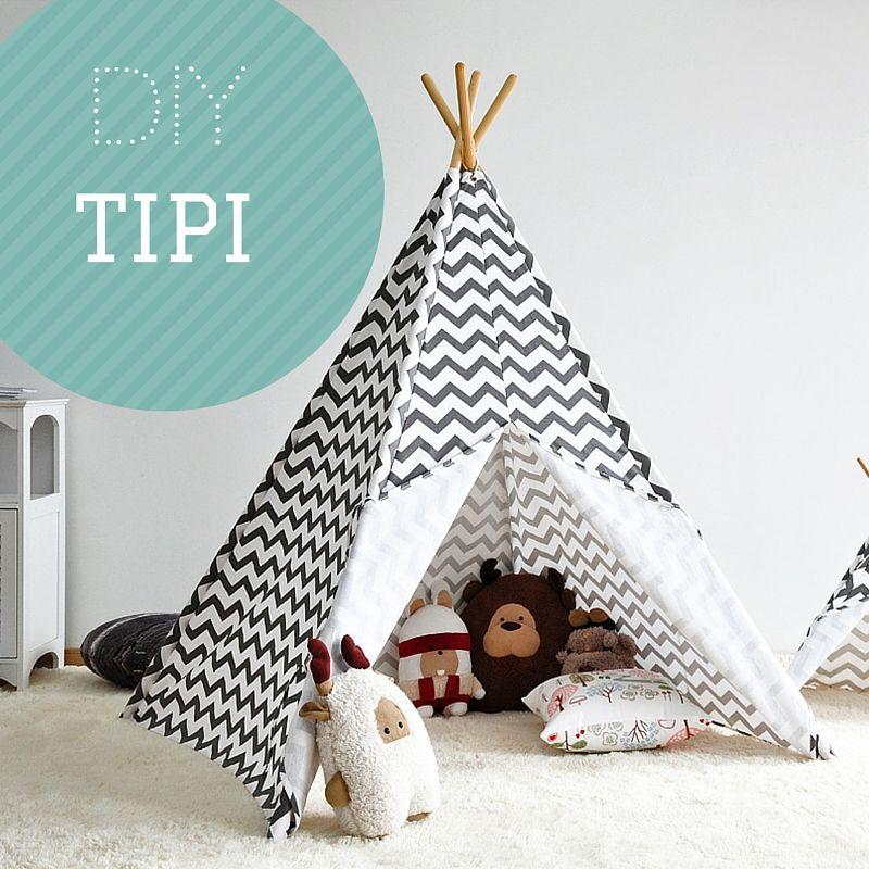 DIY: tipi tent in 9 stappen | Tipi tent