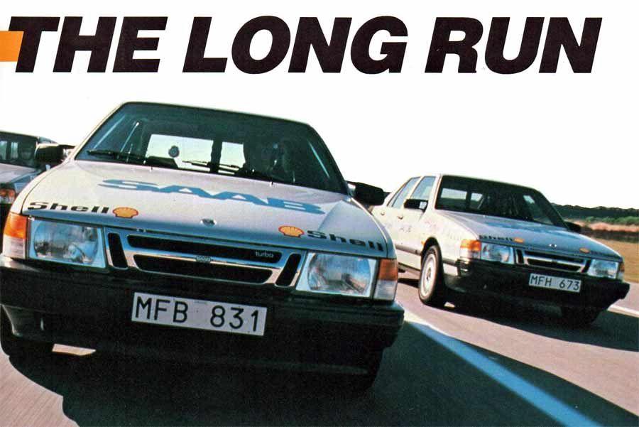 The Long Run 100 000 Km At 212 Km H Saab How To Run Longer Volvo