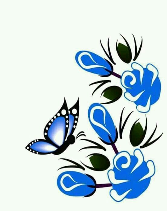 Adesivo Rivastigmina Bula ~ Flor azul Wings Of Beauty 4 Pinterest Adesivo, Adesivos de unhas e Adesivos unhas