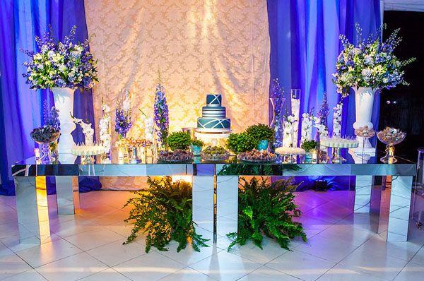 0467bc419ebb Decoração Festa Adulto · ANIVERSÁRIO MASCULINO EM TONS DE AZUL! {WALTER 50  ANOS} Uma festa de aniversário