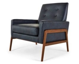 Pitaya Sedie ~ Sedia a dondolo color cognac in cuoio rocking chairs armchairs