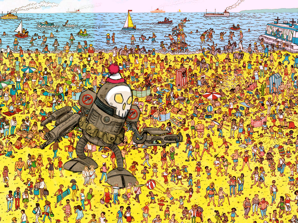 picture relating to Where's Waldo Printable named Pin upon Touring Recommendations (esp with little ones)