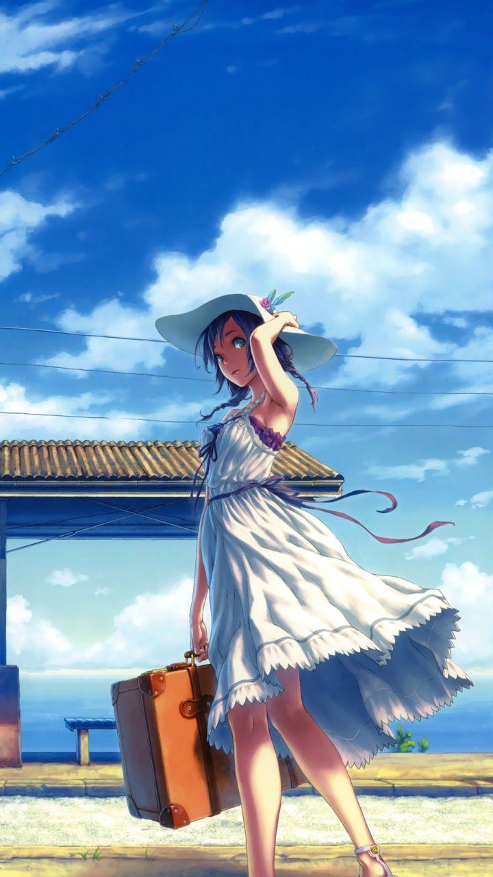 Pin On Anime Lockscreens Anime summer wallpaper hd