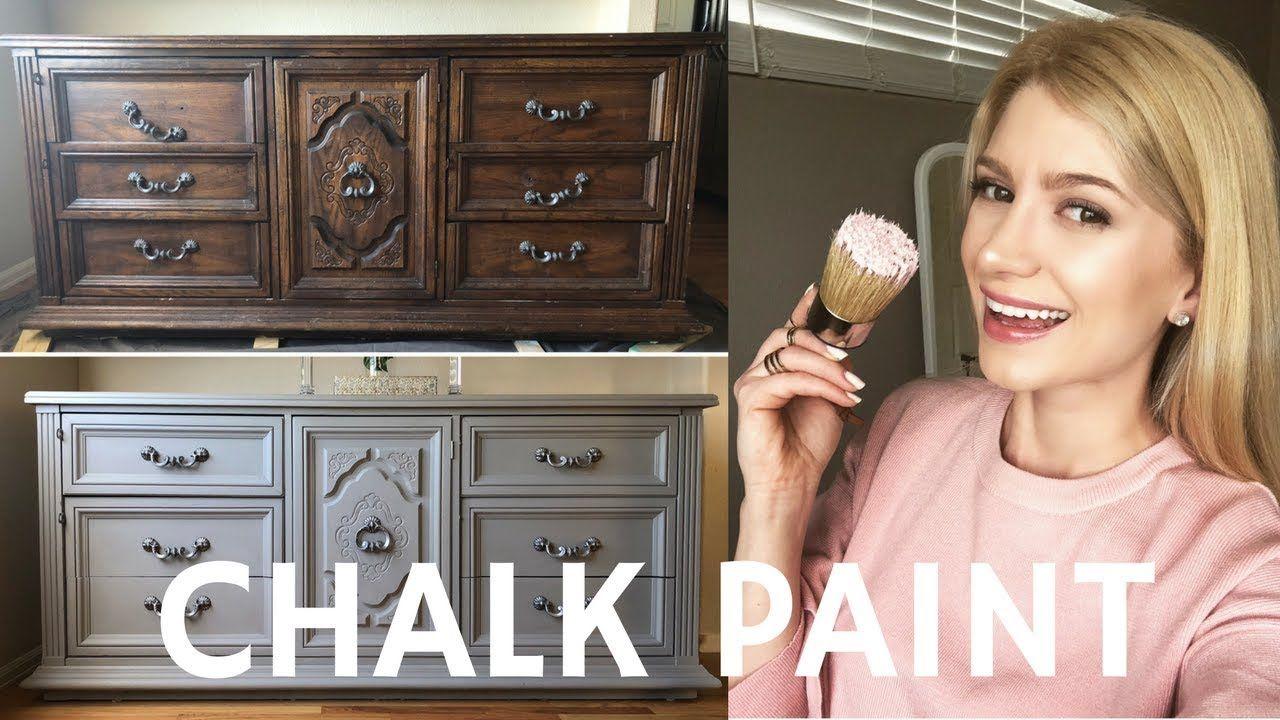 Dresser Makeover With Annie Sloan Chalk Paint French Linen Youtube Annie Sloan Chalk Paint French Linen Chalk Paint Annie Sloan