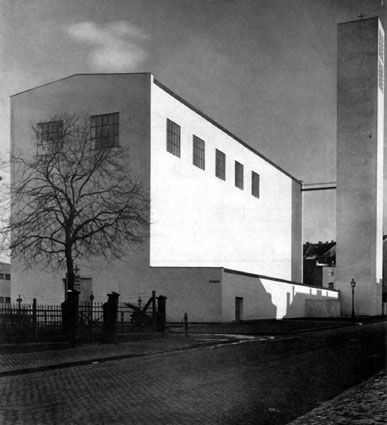 Modern Architecture Since 1900 fronleichnams-kirche (1930) in aachen, germany,rudolf schwarz