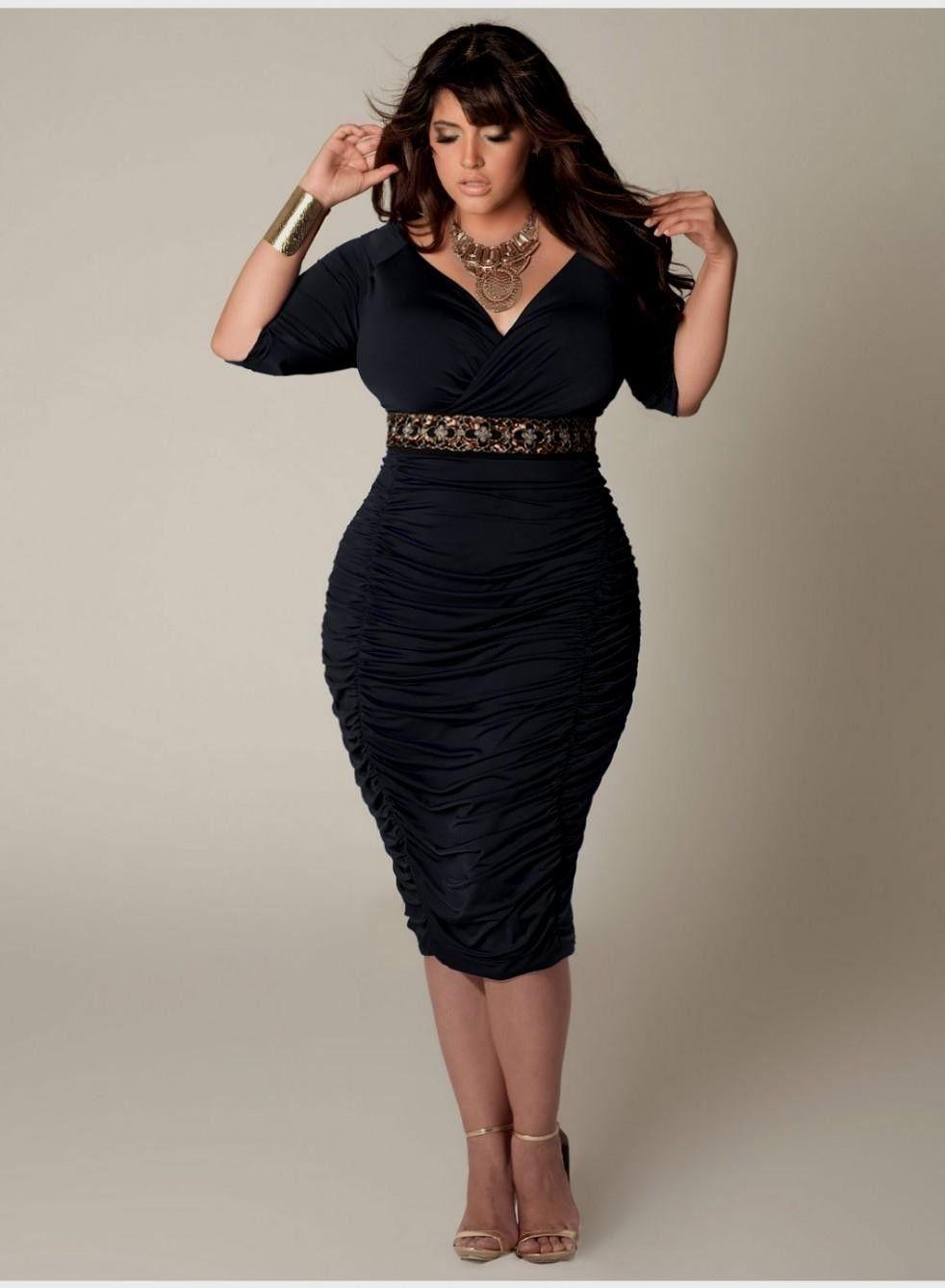 2ece60cf4 Más de 40 vestidos de fiesta color negro