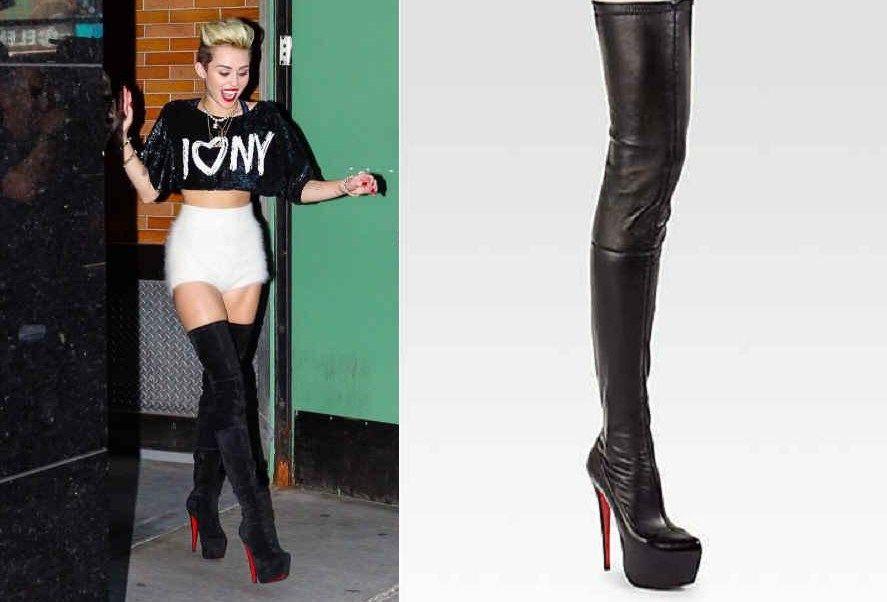 discount christian louboutin thigh high boots
