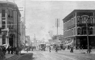 En mi novela DAMA DE TRÉBOLES Larimer St., Denver 1880