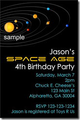 fb7716b075ed058a3d92b917a9cfee7a solar system birthday party invitation birthday parties,Space Birthday Party Invitations