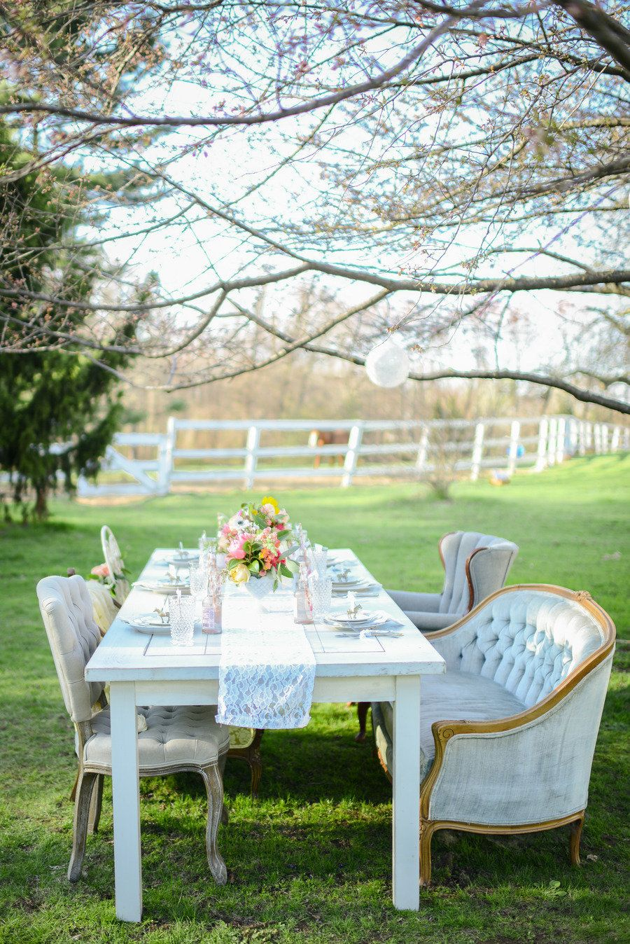 Kentucky Derby Inspired Bridal Shower Shoot From Lauren Wells Events