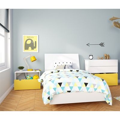 Nexera 40074 Taxi Bedroom Set