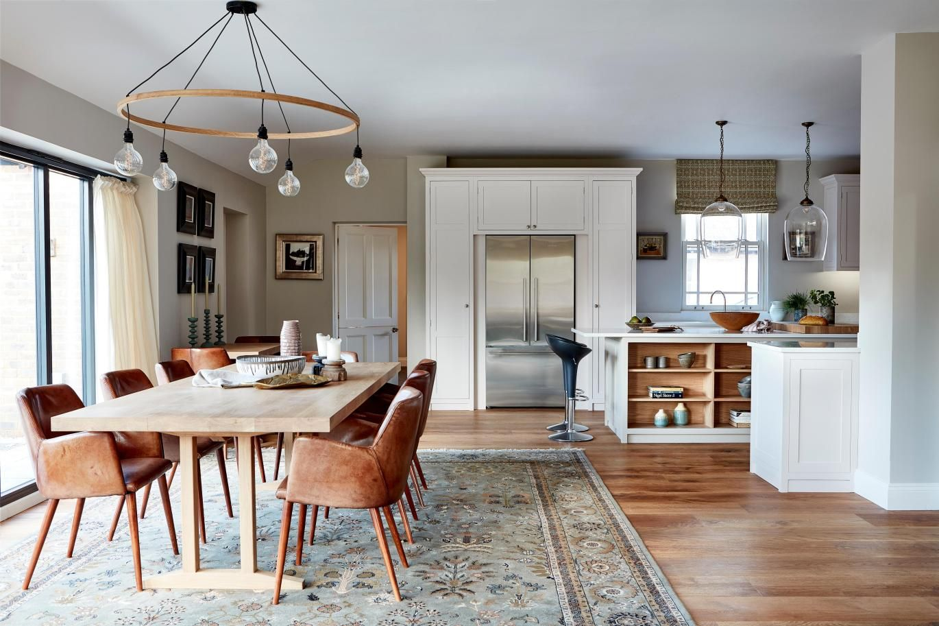 It's openplan, but not as you know it Country kitchen