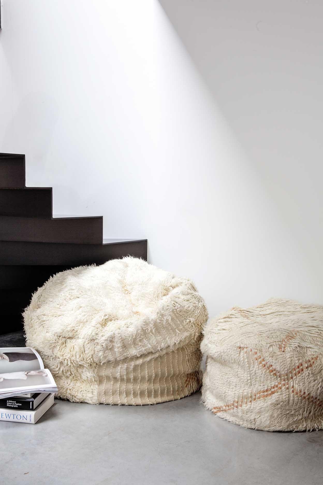 Azilal Floor Cushion No 23 Interior Interiorinspiration Polishedconcrete Interiordesign Indoorplant Designer Myhabitato Floor Cushions Azilal Cushions