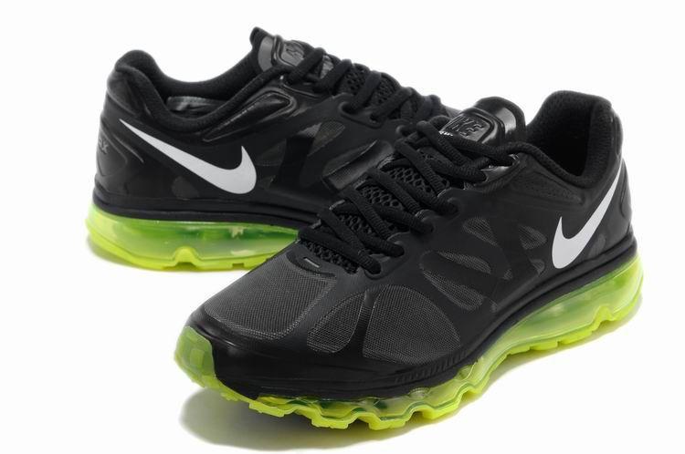 Cheap Air Max 2012 Black Green White Nike Air Max 2012  Nike air max 2012