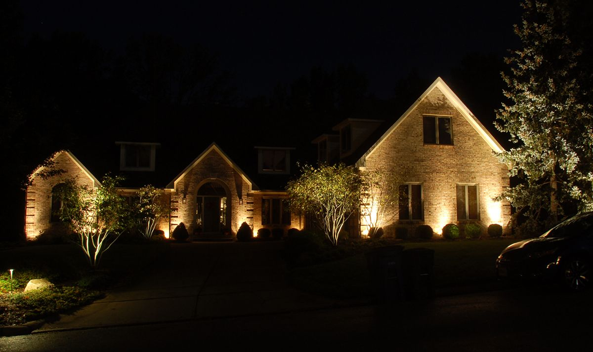 Landscape Lighting Wow Effect