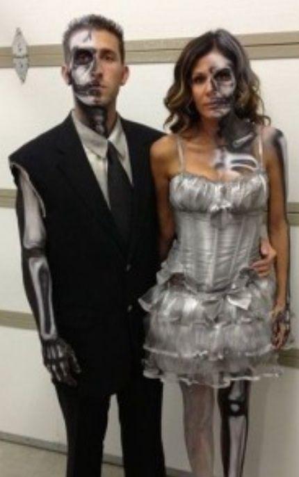 Undead Skeleton Couple Cosplays and Costume Pinterest - halloween costumes 2016 ideas