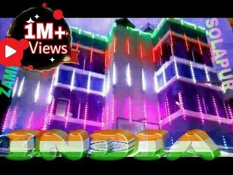 Diwali Pixel Led Rgb Full Color Light Decoration Solapur M 8149893111 Youtube