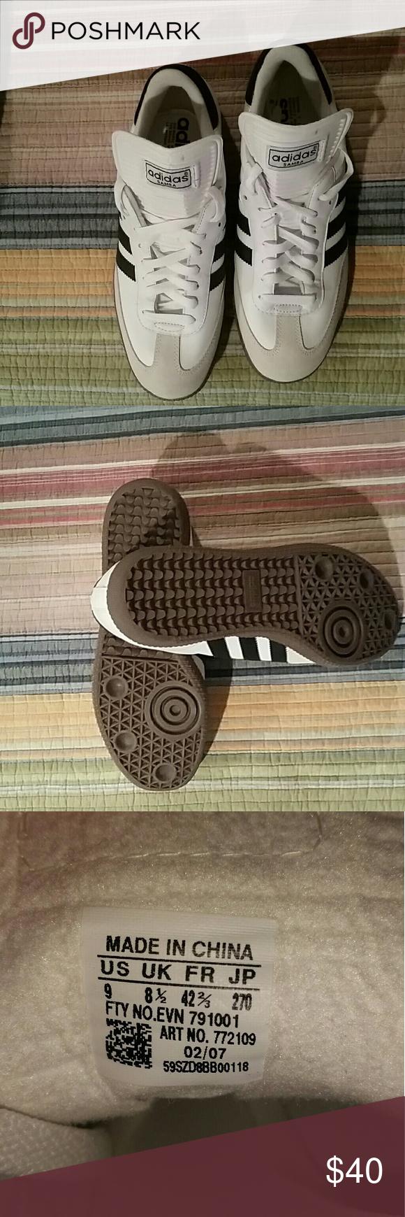Adidas Adidas con Samba blanco con rayas | negras | a9555a3 - sfitness.xyz