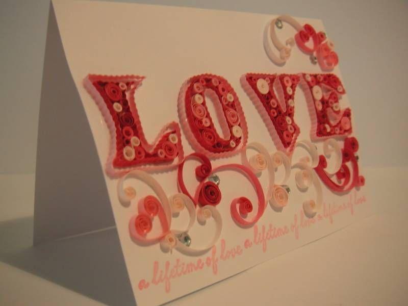 Handmade valentine cards quilling patterns quilled valentines also rh pinterest