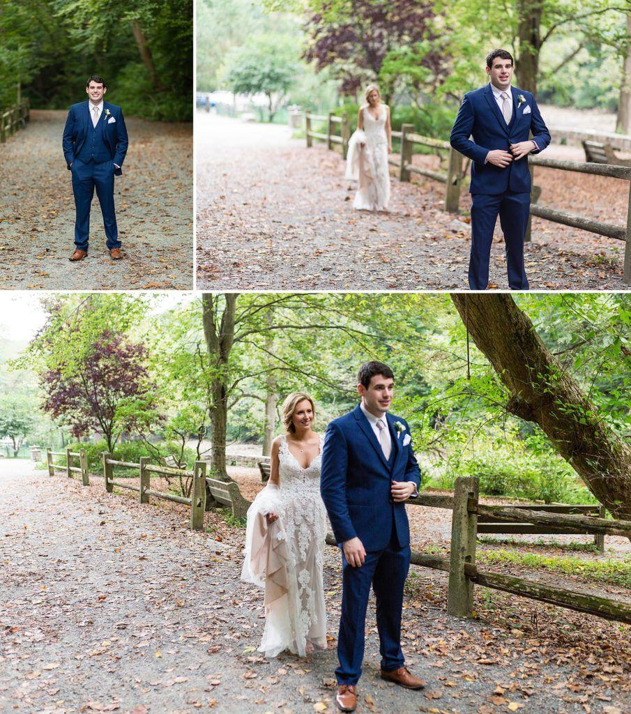 First look at a Morris Arboretum Wedding Morris