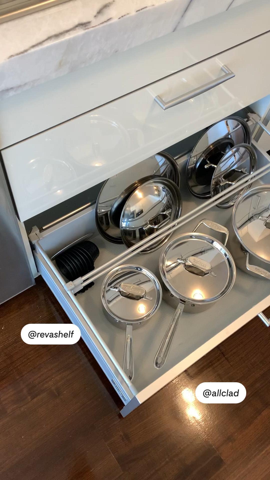 SieMatic's new sliding drawer system