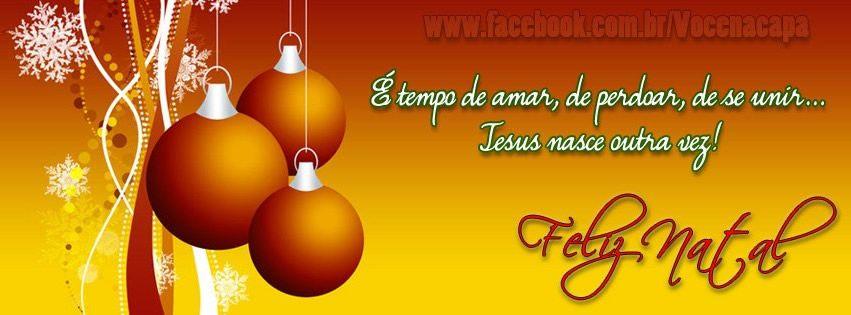 Capas Para Facebook De Natal Imagem 5 Mensagem De Natal