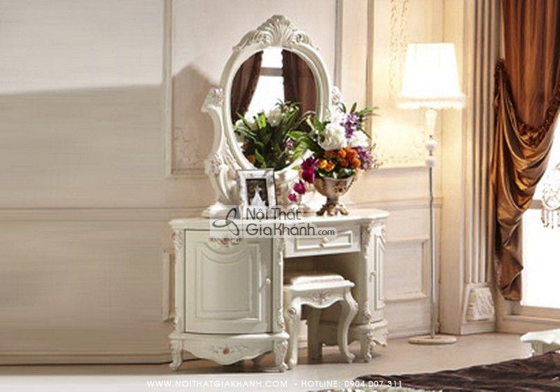 Bàn trang điểm cho nội thất phòng ngủ đẹp 58115C Mã SP 58115C Giá