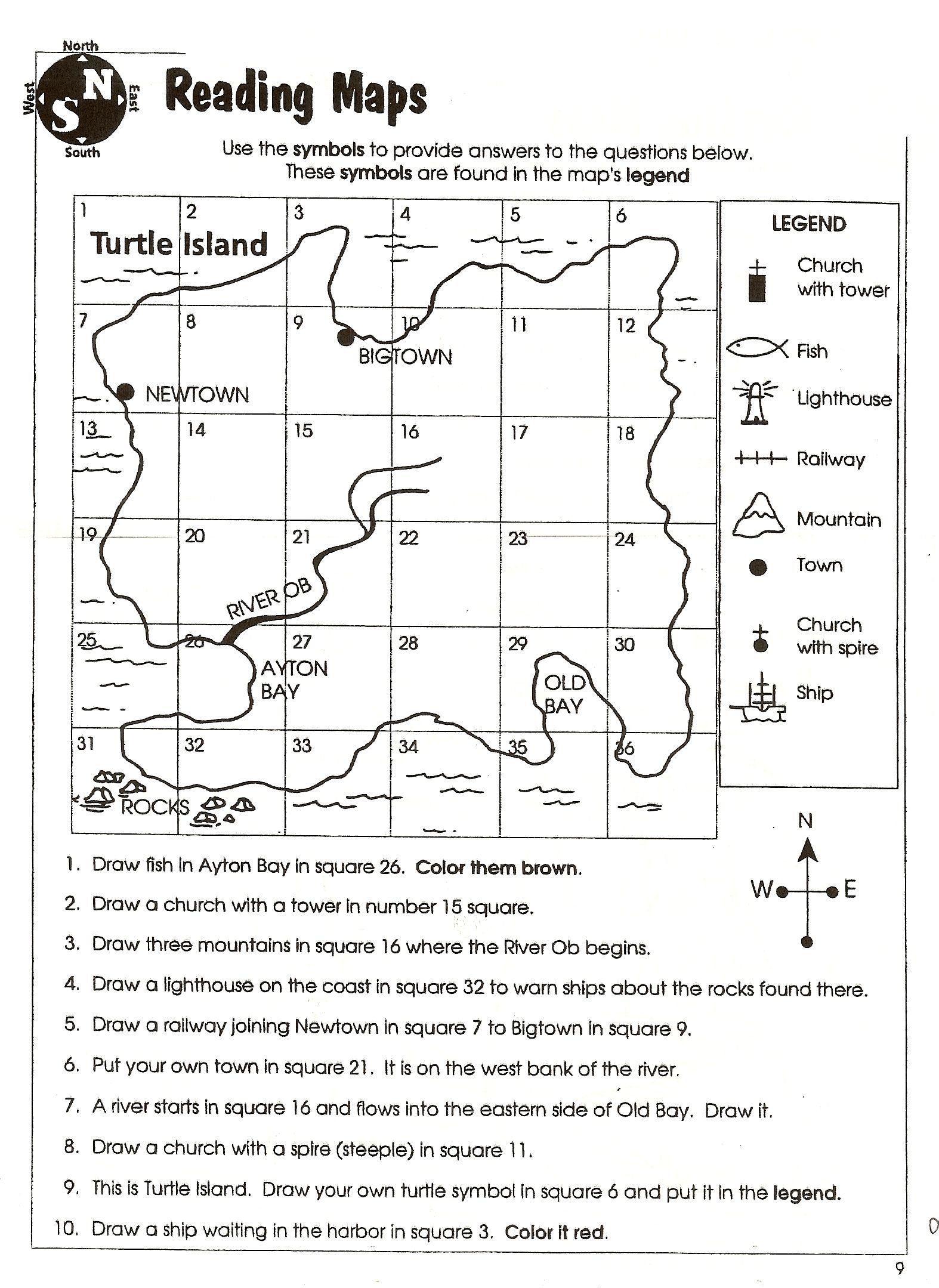 Weather Map Worksheet Middle School Social Stu S Skills In