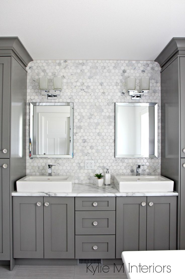 A Marble Inspired Ensuite Bathroom (Budget Friendly too!) | Ensuite ...