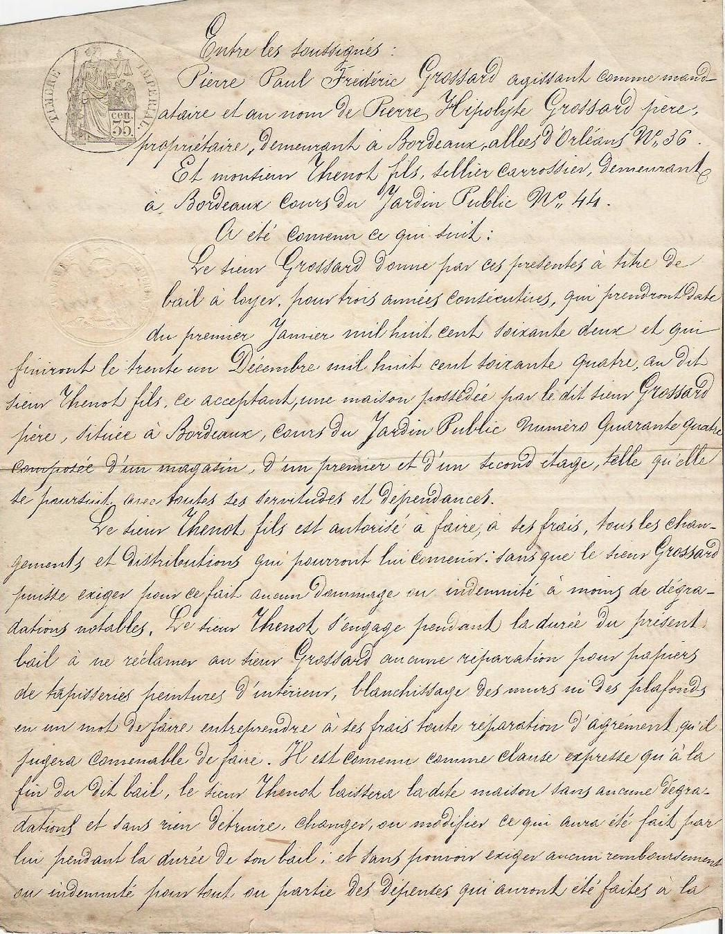 1862 parisian handwritten letter look at the beautiful pen personship you cant