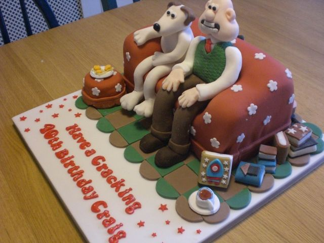 Wallace & Gromit Cake Side View