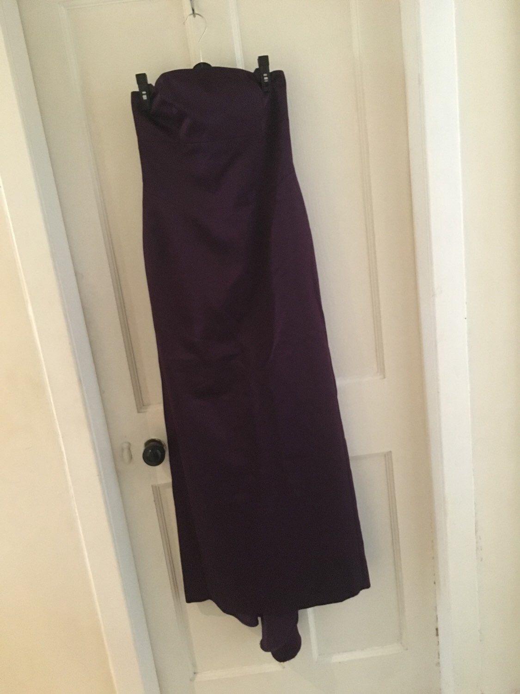 Debut evening gown by Debenhams size 10 long purple dress