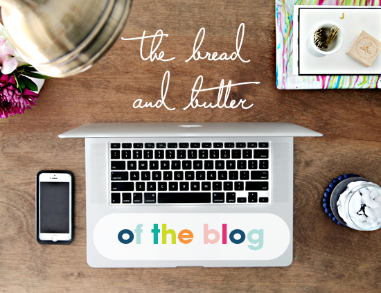 IHeart Organizing: IHeart Blogging Series: The Bread & Butter of the Blog- monetizing your blog