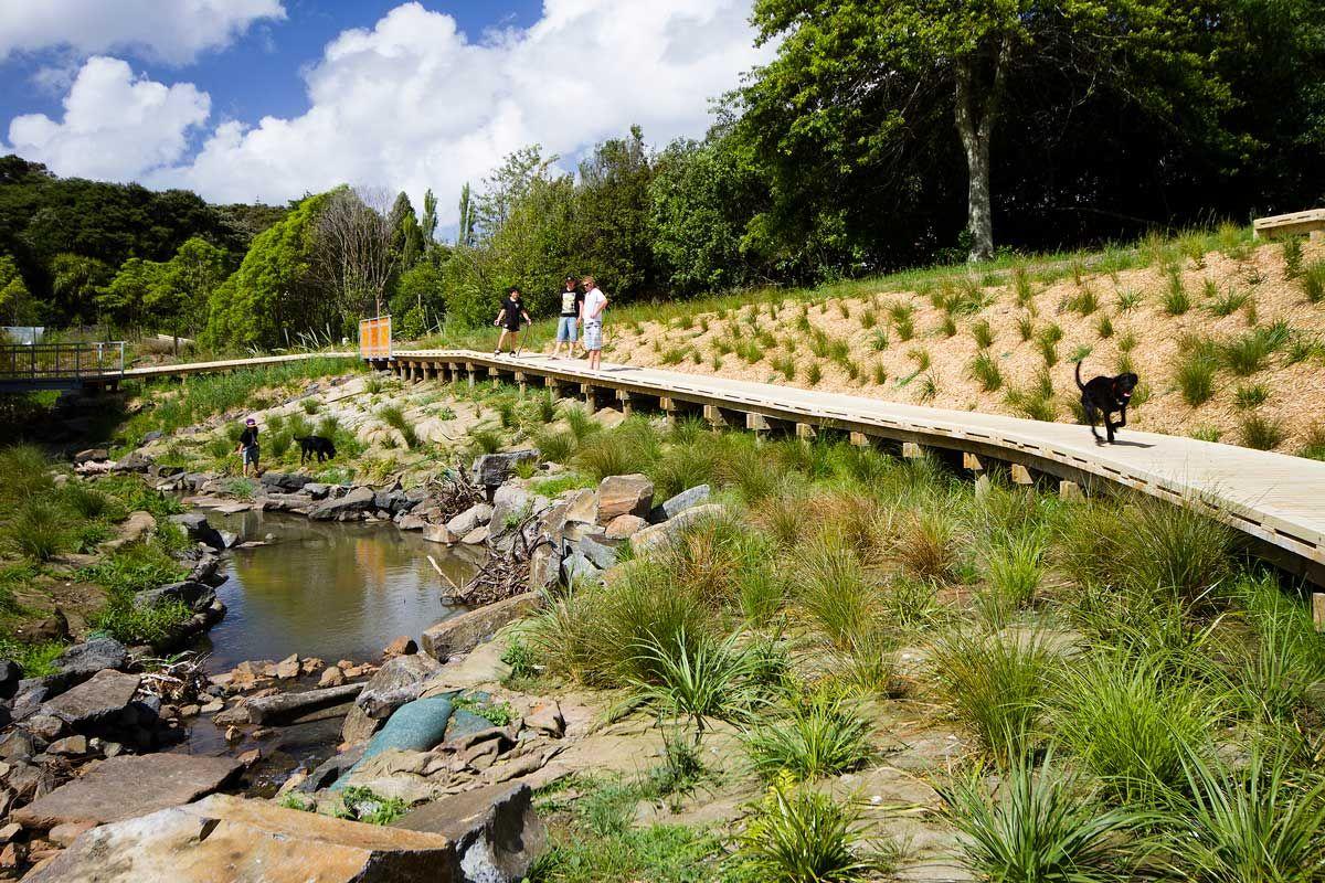 Stream Renaturalization Boffa Miskell Landscape Architecture 04 Landscape Architecture Works Land Park Landscape Landscape Architecture Landscape Architect