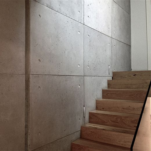 Ivanka Concrete Panels Provide A Trendy Urban Look Fabricated In Pre Cast Concrete They Are Available Concrete Interiors Concrete Wall Panels Concrete Panel