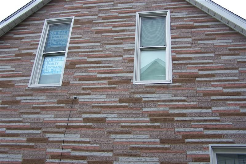 Vintage asphalt flagstone siding architectural materials for Architectural siding