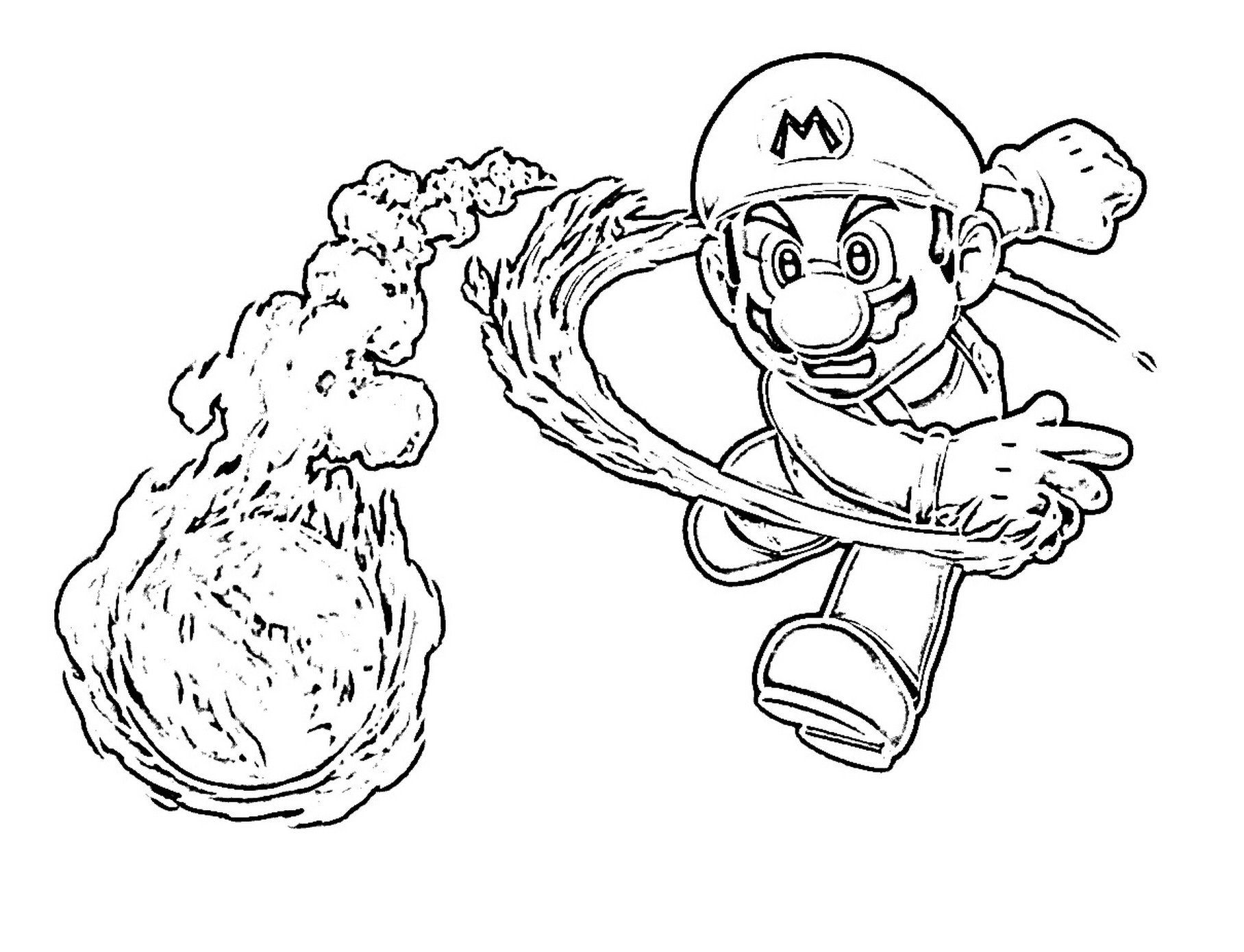 super mario baby yoshi coloring pages