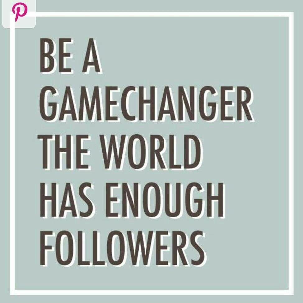 Game Changers Trailblazers Rainmakers Trendsetterslets Get It
