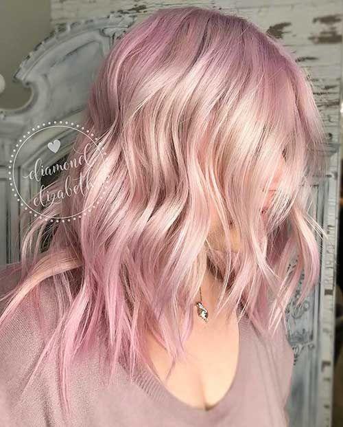Schöne Kurze Rosa Haare Ideen für Junge Frauen // #Frauen #für ...