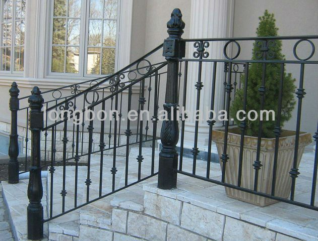Top-selling Classic Wrought Iron Railings Outdoor - Buy Curved ...