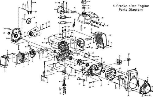 66 80cc motorcycle engine diagram