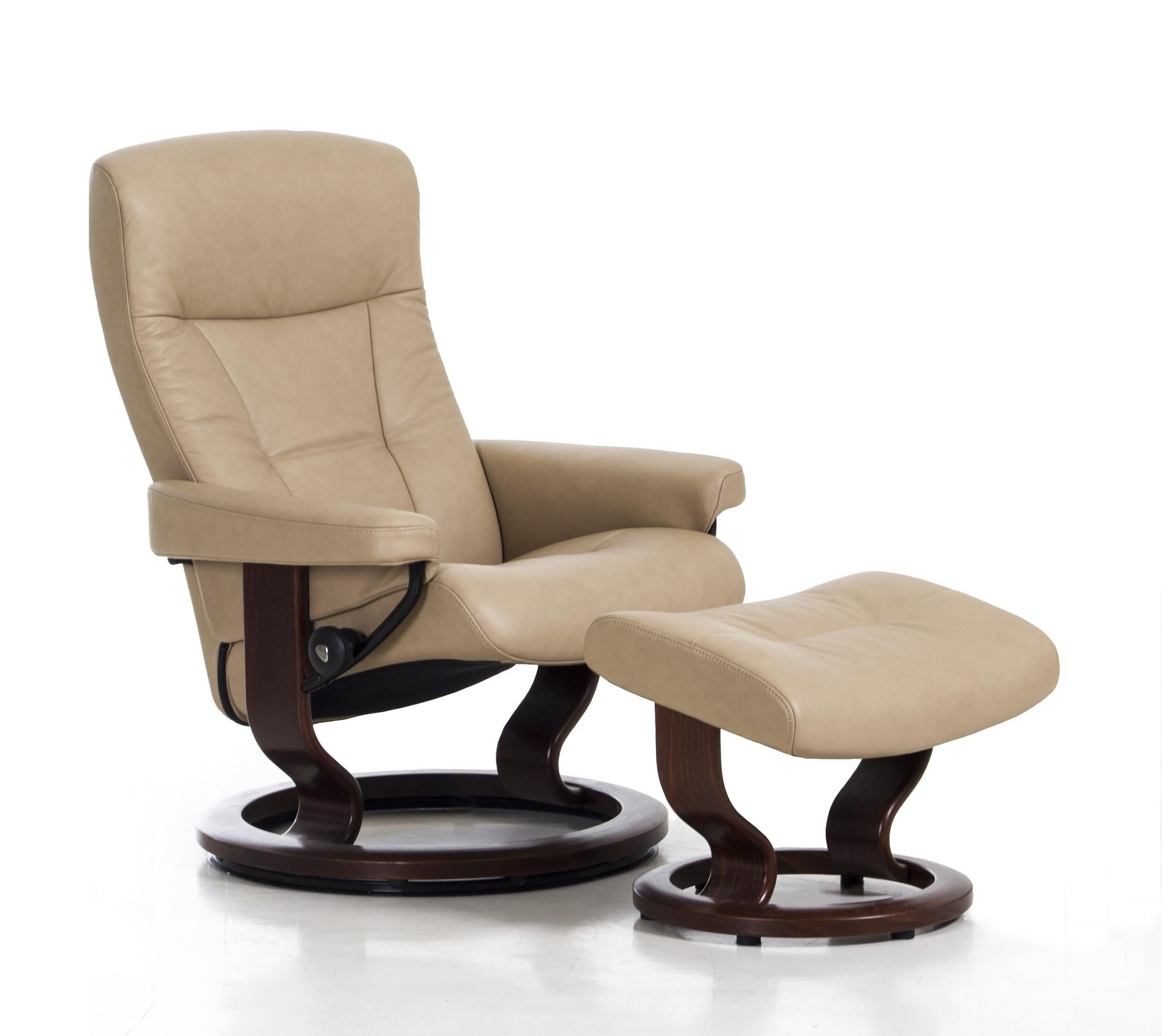 Recliner Chair With Ottoman Manufacturers Hanging Gumtree Brisbane Ekornes Stressless President And House
