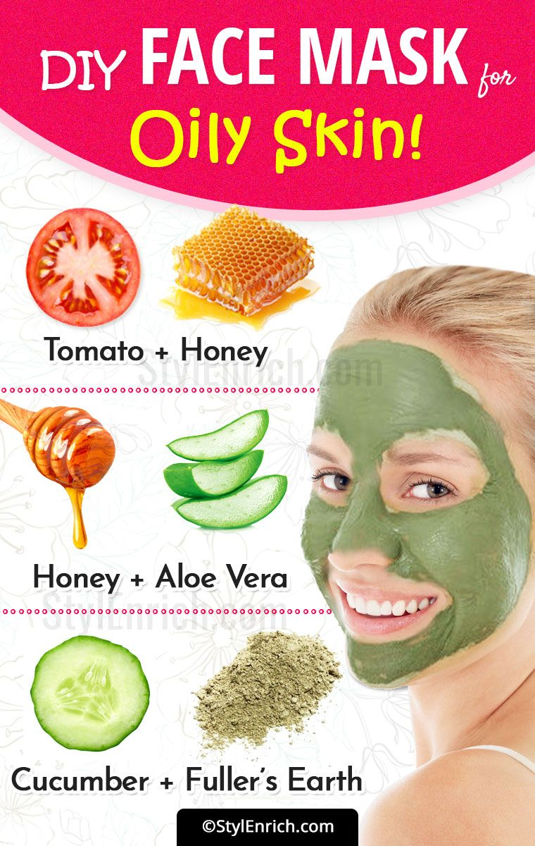 Diy Face Mask For Oily Skin Mask For Oily Skin Oily Skin Care Oily Skin